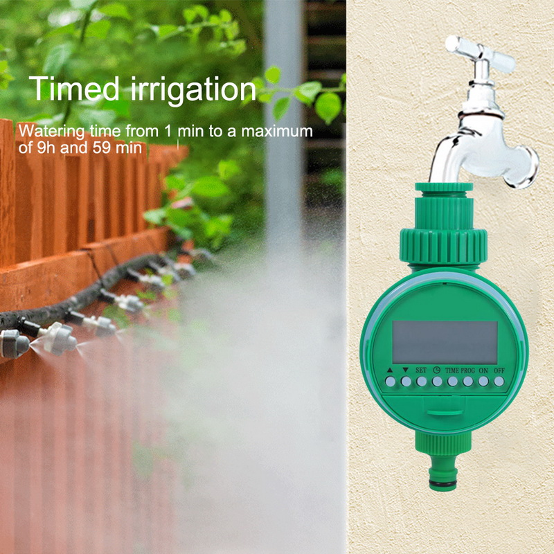 Garden-Irrigation-Controller Watering-Timer Home-Ball-Valve Lcd-Display title=