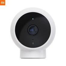 החדש Xiaomi Mijia AI חכם IP מצלמה 1080P IP65 עמיד למים מלא HD באיכות אינפרא אדום ראיית לילה 170 תואר סופר רחב זווית