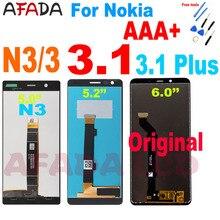For Nokia 3 N3 TA-1020 TA-1028 TA-1032 5.0 LCD For Nokia 3.1 TA-1117 TA-1113 3.1 Plus TA-1118 TA-1104 LCD Display Touch Screen shyueda 100% original new aaa for nokia 3 ta 1020 ta 1028 ta 1032 ta 1038 5 0 lcd display touch screen digitizer