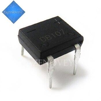 20pcs/lot DB107S DB107 DIP-4 Bridge Rectifiers 1A 1000V new original In Stock - discount item  8% OFF Active Components
