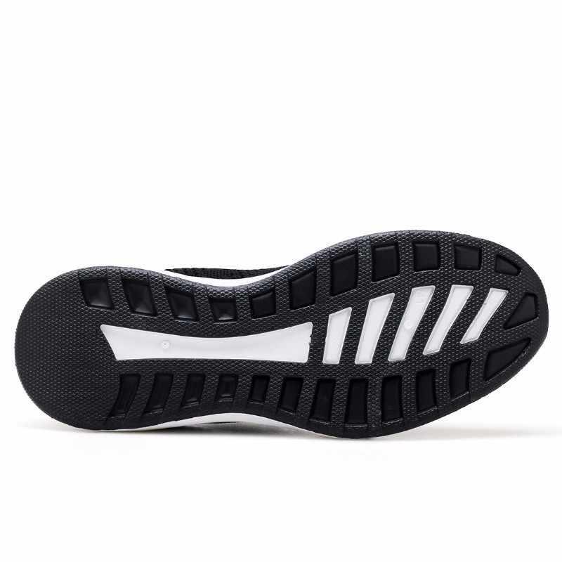 2019 Ademende Casual Schoenen Mannen Zomer Platte Big Size Heren Schoenen met Veters Rode Mesh Schoenen Mannen Sneakers Kwaliteit Sport foorwear