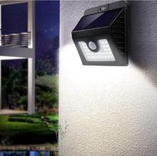 30 LEDs Solar Light Solar Powered PIR Motion Sensor Wireless Solar Lamp Waterproof Outdoor Garden Yard Wall Lamp LED Light