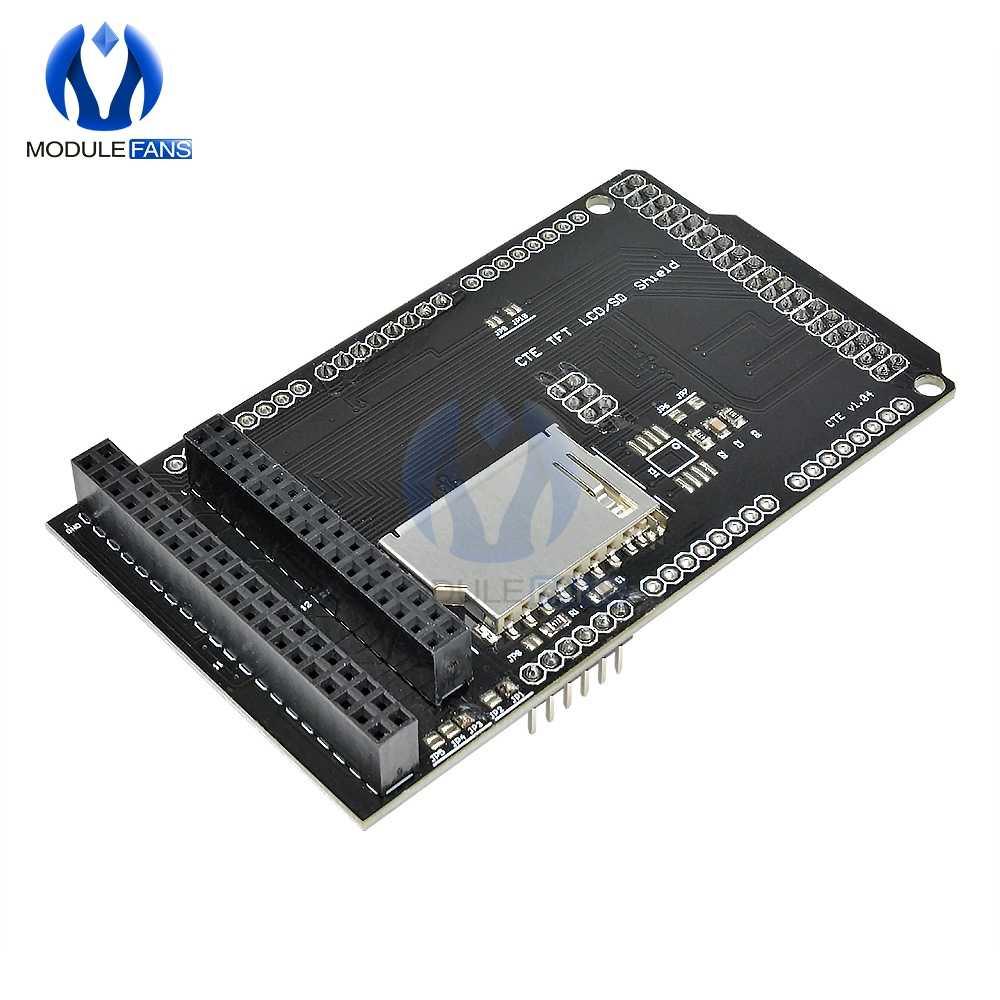 v1.04 CTE TFT Display LCD //SD Shield Expansion Board For Arduino Due Module