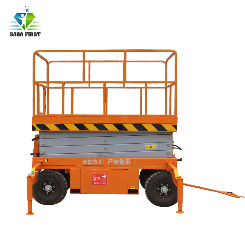 Europe Standard 50' Electric Scissor Lift