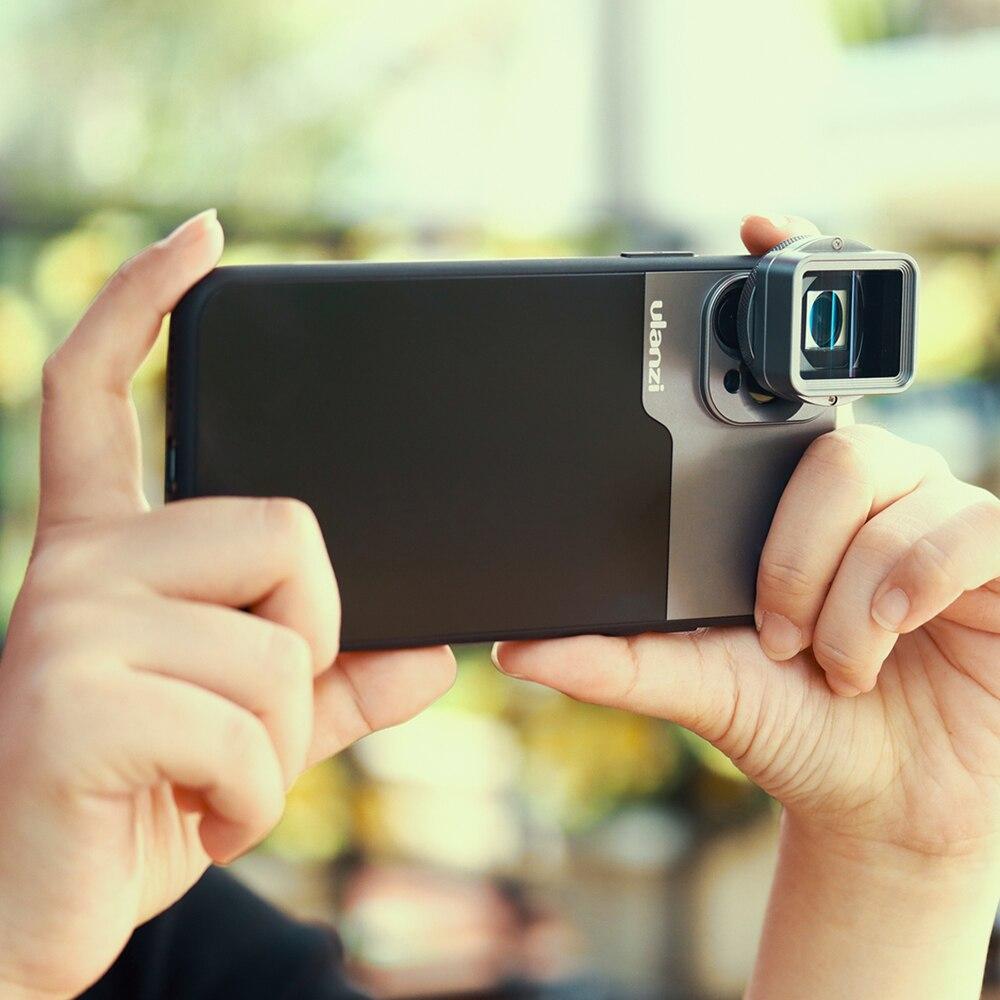 Lente anamórfica Ulanzi para iPhone 11 Pro 1.3x, pantalla ancha de vídeo, pantalla panorámica Slr, película Videomaker, lente Teléfono universal - 5