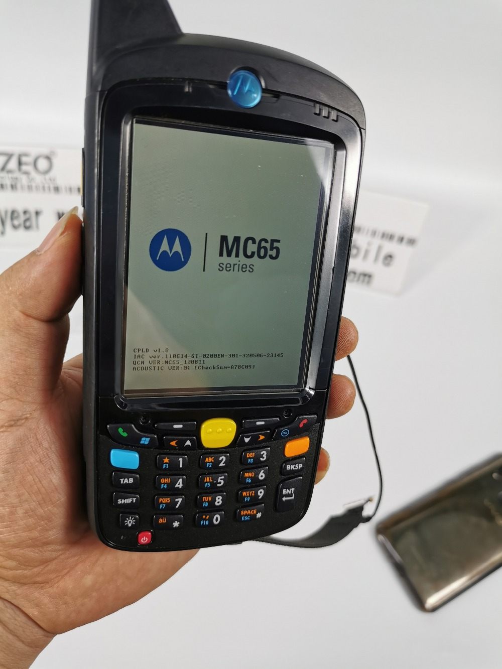 Barcode Scanner Data Collector PDA Mobile Handheld Terminal For Symbol Motorola MC659B-PD0BAF00100 MC659B WM6.X WL 256MB/1GB