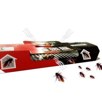 1PCs Cockroach Trap Pitfall House Killer Bug Insect Net Bait Catch Glue Home Pest Control Roach Black Beetle Garden Supplies image