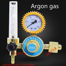 Carbon dioxide argon gas table tig welder Pressure display argon tig welding Pressure indicator tig-welder Pressure test tool argon co2 gas mig tig flow meter welding weld regulator gauge for welder cga580 fits