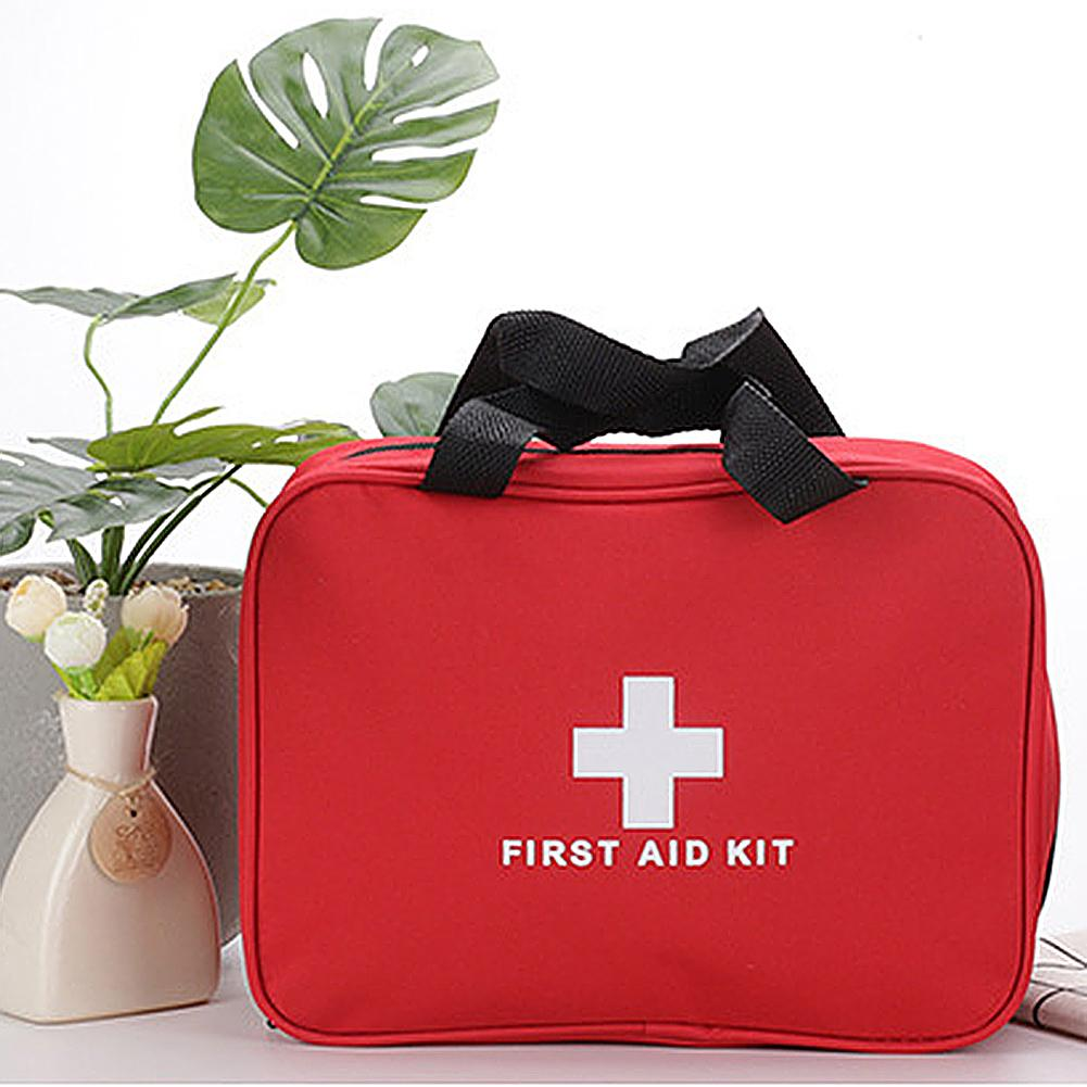 Portable First Aid Bag Emergency Outdoor Treatment Survival Medical Rescue Pouch