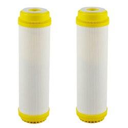 Do szybkiego łączenia 10 Cal T33 z 2 sztuk montaż filtr do wody z włókna węglowego Post wkład do filtra wody odwróconej osmozy