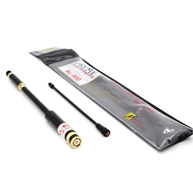 Antenne télescopique extensible AL-800 double bande SMA-F/M/BNC AL800 pour Baofeng UV-5R UV5R 9R XR UV-82 B5 B6 GT-3 TYT WalkieTalkie