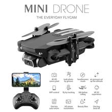 Портативный Квадрокоптер Дрон с дистанционным управлением дроны 2,4G RC Дрон FPV 480P 4K 1080P HD камера Квадрокоптер широкоугольный Квадрокоптер Дрон