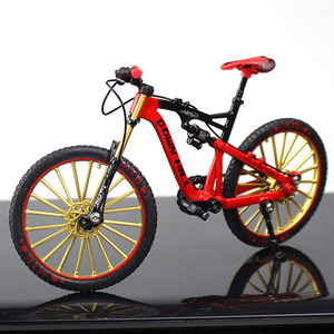 1:10 Ornament Zinc Alloy Bike Model Window Display Crafts Rotatable Office Figurine Home Decor Free Standing Children Toy