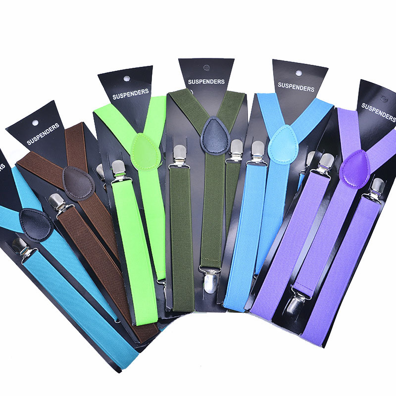 Manufacturers Direct Selling Customizable Monochrome Fashion Universal Camisole Suspender Strap Suspenders Pants Suspender Strap