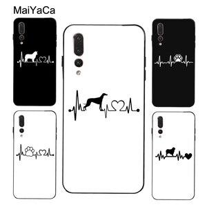 Чехол MaiYaCa Love dogs heartbeat для Huawei P30 Lite P10 P40 P20 Pro Mate 10 30 20 Pro P Smart Z 2019