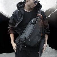 FYUZE New Men's Waterproof chest bag for male Crossbody Shoulder bag USB Charge bag Casual racket bag Summer Short Trip pocket