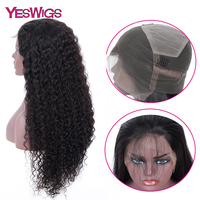 Yeswigs Pre Plucked Full Lace Human Hair Wigs For Women Kinky Curly Wig Peruca Pruiken Full Lace Wig Remy Peruvian Wig