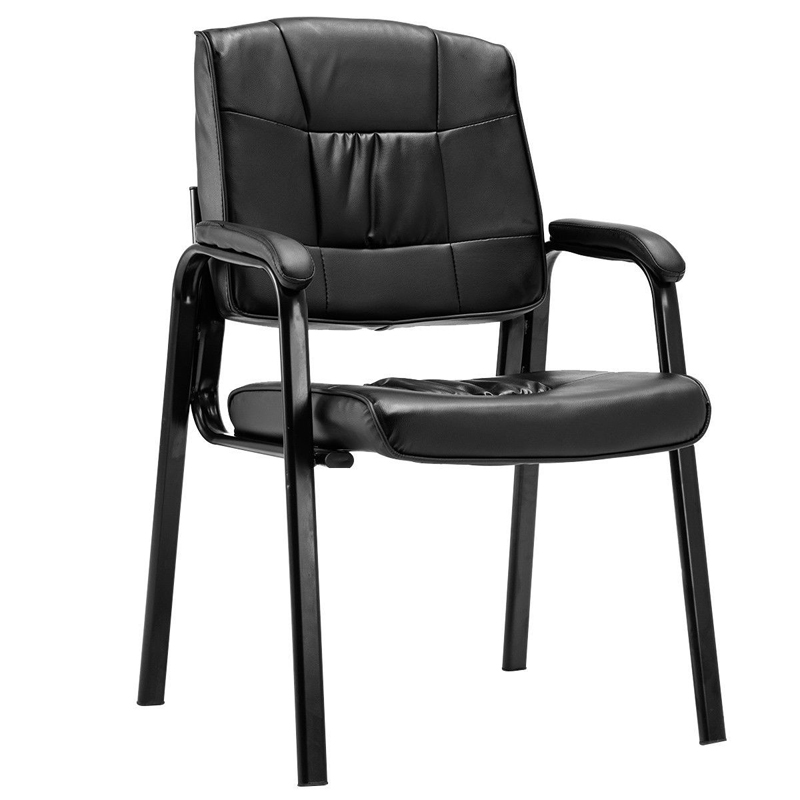 Set Of 2 PU Conference Reception Office Guest Armchair HW56259