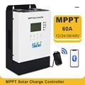 60A MPPT Solar Controller 12V 24V 36V 48V Solar Ladegerät Regler Max 150VDC Eingang Spannung RS485 kommunikation Port IP32