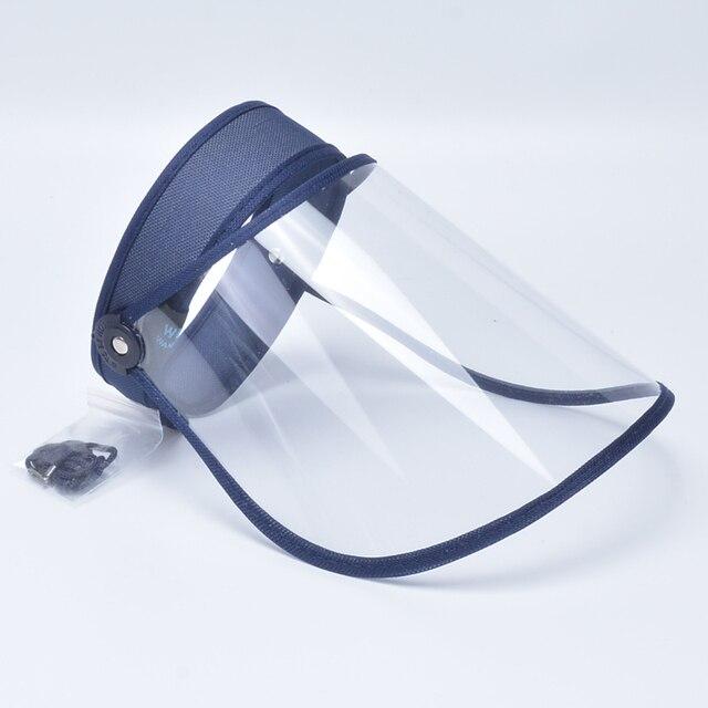Shield Mask Anti Saliva Fog Dust Full Face Cover Mouth Mask Protective Visor Shield Droplet Face Shield Transparent 4