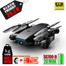 4K dron SG700 SG700D quadcopter drones met camera mini rc helicopter speelgoed profissional drohne camera quadrocopter VS SG901 SG90(China)