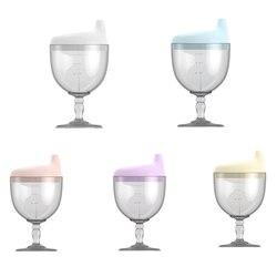 150ml novo criativo copo de vinho em forma de bebê infantil enfermagem garrafa copo de alimentação pp aprendendo garrafas bebendo