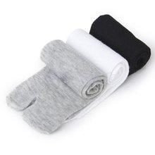 3 пары/партия, носки японские кимоно шлепанцы сандалии Разделение носок таби ниндзя носки Geta длинные продается Цвет короткие носки