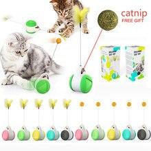 Animal de estimação brinquedo interativo brinquedo do gato brinquedo do brinquedo do gato com rodas e catnip animal de estimação bola brinquedo engraçado do gato do jogo do animal de estimação suprimentos nenhuma bateria necessária