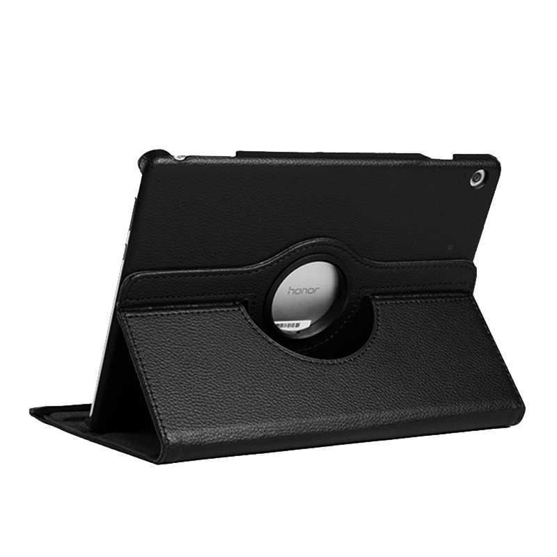 מסתובב Stand Flip עור מקרה עבור Huawei Mediapad T5 T3 M3 M5 M6 לייט 10 10.1 9.6 8.0 Matepad פרו 10.8 כיסוי Tablet תיק מקרה