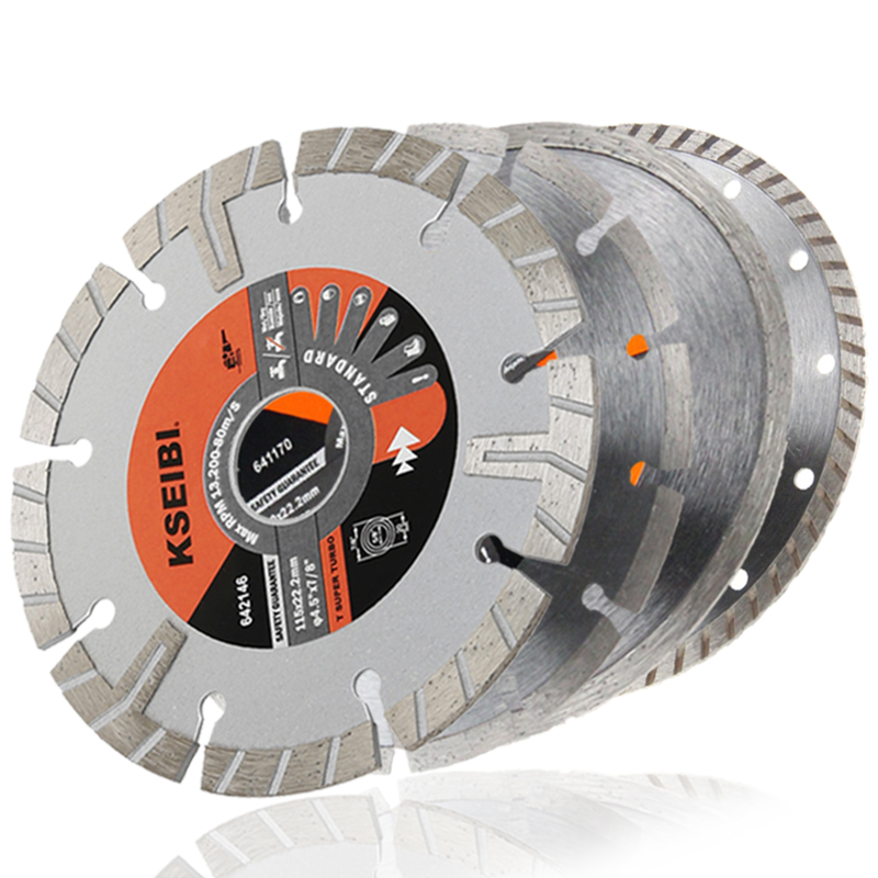 KSEIBI Diamond Circular Saw Blades Diamond Saw Disc 105-230mm Cutting Stone Granite Marble Concrete Diamond Cutting Disc Blade