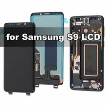 Оригинальный amoled ЖК дисплей для samsung galaxy s9 g960f с