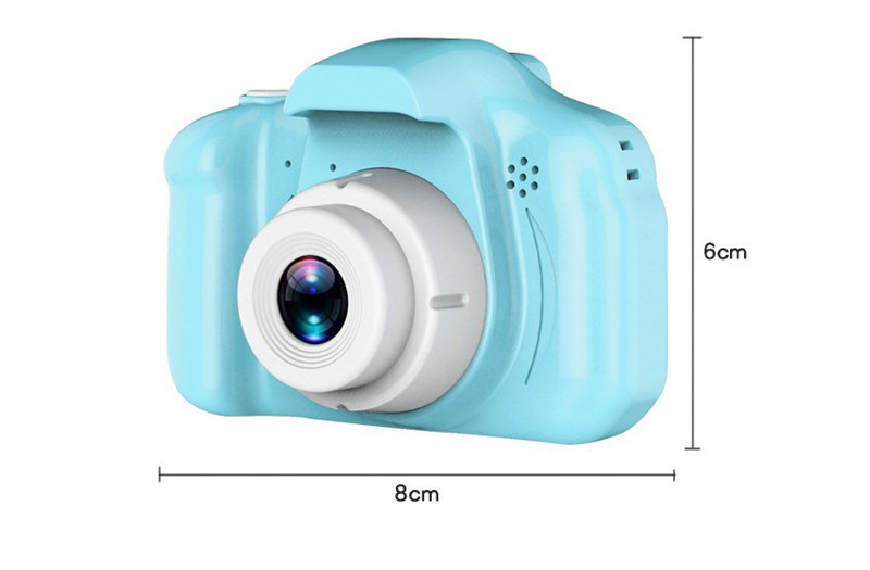 Children Kids Camera Educational Toys for Baby Gift Mini Digital Camera 1080P Projection Video Camera with 2 Inch Display Screen
