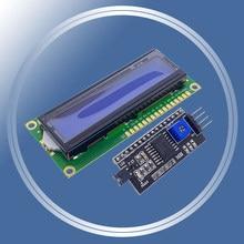 Бесплатная доставка! Модуль 1602 HD44780 для ЖК-дисплея Arduino (с последовательным интерфейсом IIC/I2C), 16x2
