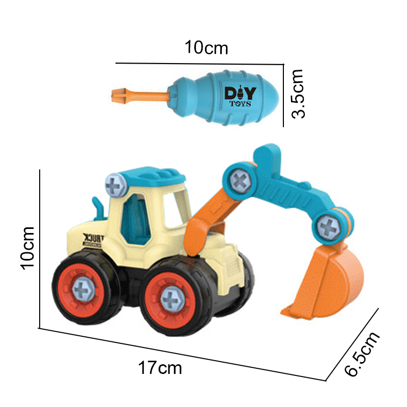 DIY Truck Engineering Toys 15