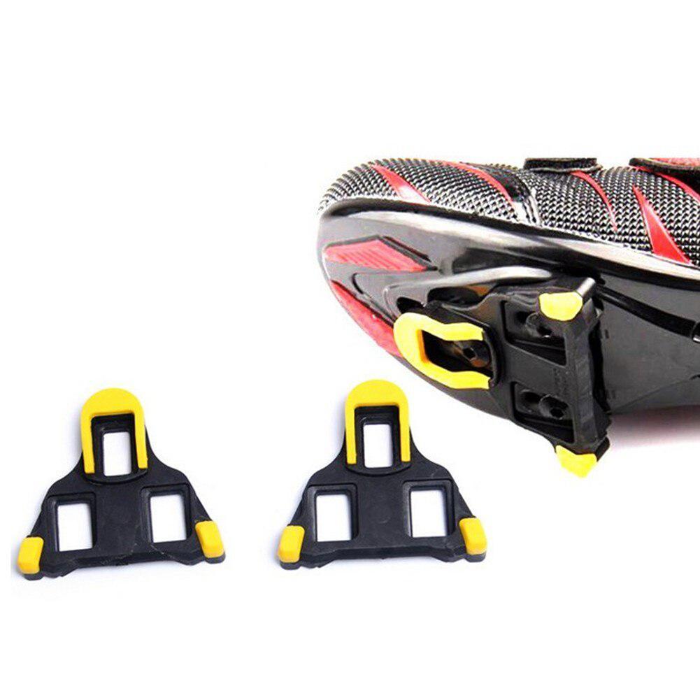 1 Paar Universal Pedal Klem Racefiets Zelfsluitende Fietsen Pedalen Schoenplaten Voor Shimano Sh-11 SPD-SL Geschikt voor De Meeste Fietsen Schoen