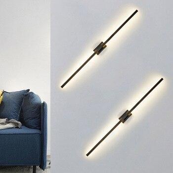 Loft Luz de pared led lámpara de pared led pasillo de la habitación dormitorio lampara pared cabecero de cama
