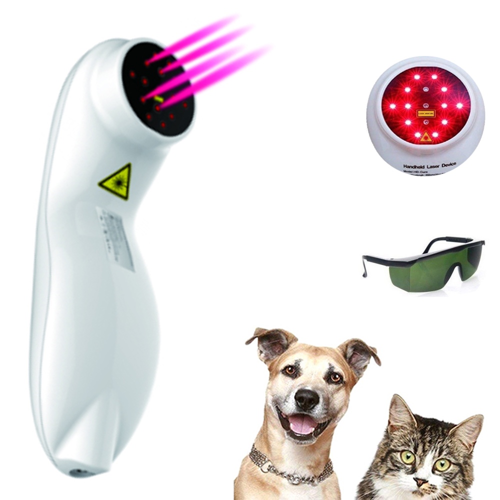 Dog and Horse Cat Animals Pain Relief LLLT Therapy Device by 808nm Safety Cold Laser Machinea15
