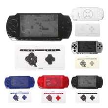 소니 PSP 2000 콘솔 용 버튼 키트로 1 세트 전체 하우징 셸 케이스 커버 교체