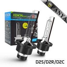 AC 35W D2s D2r żarówka ksenonowa Hid reflektor samochodowy 6000k 8000k 10000K 12000K Xenon D2c do samochodu zamienna żarówka