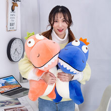 New Style Bigeye Dinosaur Doll Software Plush Toys Pillow Cute Dinosaur Doll Plush Toys(China)