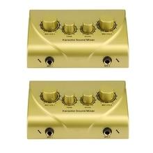 Karaoke-Machine Microphone-Console Echo-Mixer Digital Audio-Sound Professional