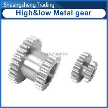 2pcs High&low Metal Transmission gear T29xT21&T20xT12 SIEG C2&C3 JET BD-6 Metal Lathe Main shaft duplicate double gear - Category 🛒 All Category