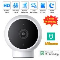 2MP originale Mijia Smart IP Camera 2K WiFi visione notturna Audio bidirezionale AI rilevazione umana Webcam videocamera Monitor di sicurezza per bambini