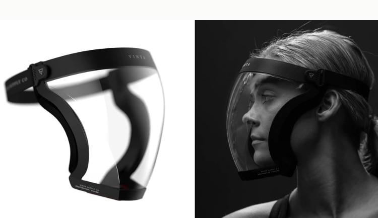 Transparent Full Face Mask