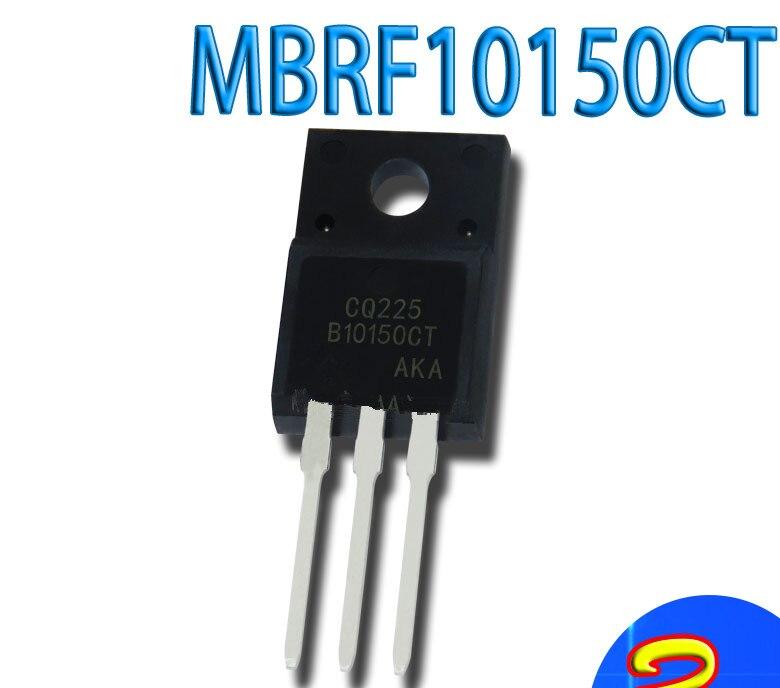 50 шт./лот MBRF10150CT MBR10150 10A 150V в наличии лучшее качество