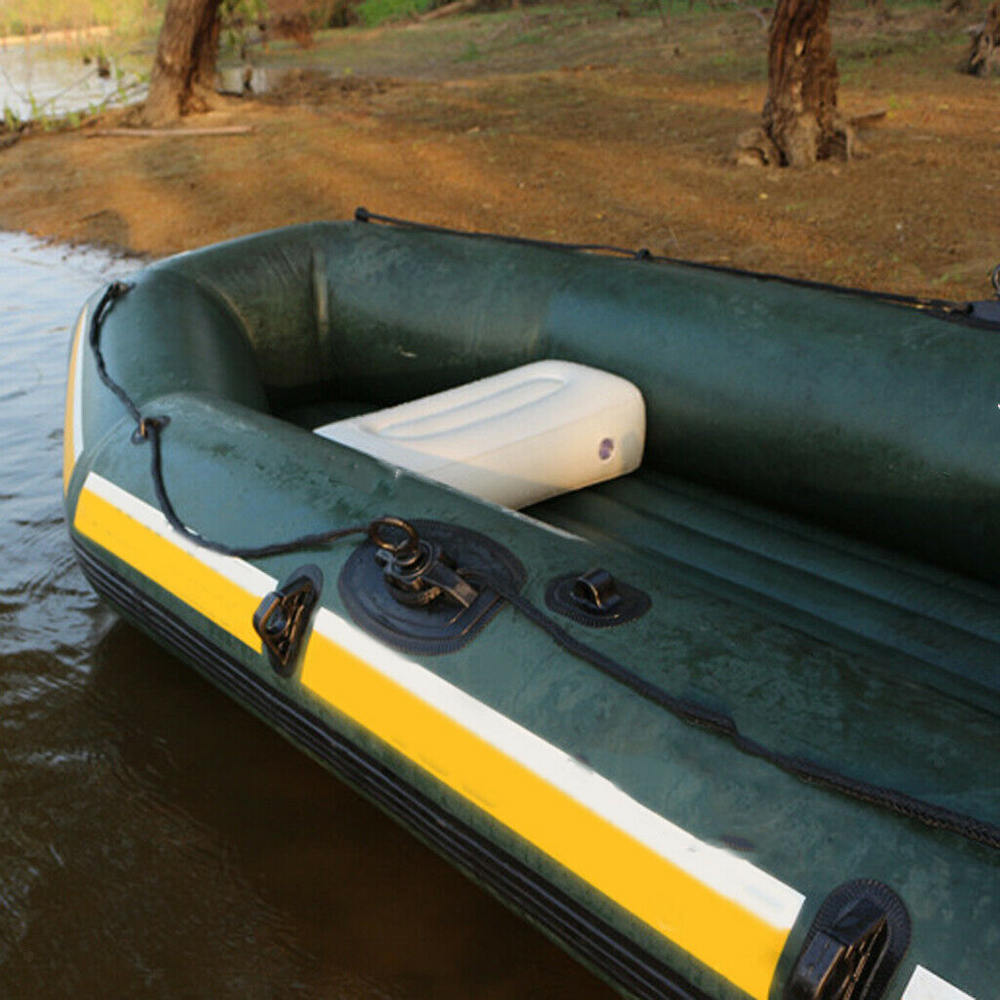 PVC Kayak Inflatable Cushion Outdoor Fishing Inflatable Boat Seat Air Cushion Sailing Boat Seat Pillow Accessories Marine