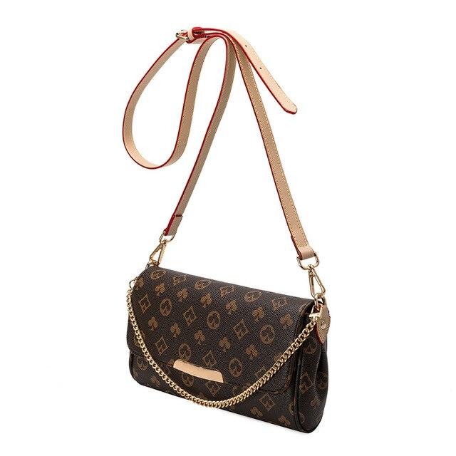 2020 louis Women Shoulder Bag with Chain Print Bag luxury Designer Crossbody Bags Luxury Brand Purses and Handbags high Quality 1