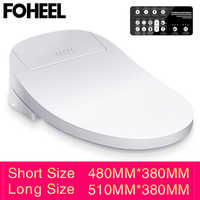 FOHEEL Smart Toilet Seat Electric Bidet Smart Toilet Seat Heated Toilet Seat Led Light Wc Intelligent Toilet Seat Lid