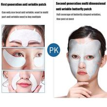 Korea Forehead Wrinkle Decree Wrinkle Reduction Patch Aging Mask s Anti Repair Mask Butterfly Firming Eye Essence Q1U4