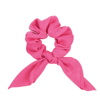 New Chiffon Bowknot Elastic Hair Bands For Women Girls Solid Color Scrunchies Headband Hair Ties Ponytail Holder Hair Accessorie 11